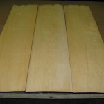 "12"" x 48"" x 1/16"" Maple Veneer - 70 Sheets - Makes 10 decks"