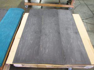 12″ x 48″ Dyed Maple Veneer Pack (Black)