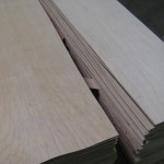 "12"" x 40"" x 1/16"" Maple Veneer - 70 sheets - makes 10 decks"