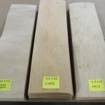"9.5"" x 35"" x 1/16"" Maple Veneer - 70 sheets - will make 10 decks"