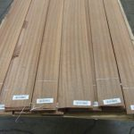 Sapele Quarters - $0.14 per sq. foot