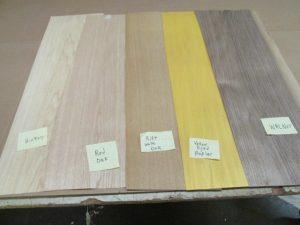 10″ x 36″ x 1/48″ Decorative Skateboard Veneer Pack – 10 Sheets