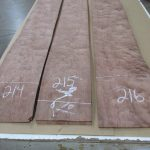 Bubinga Veneer - Waterfall Figure - $0.60 per sq. foot